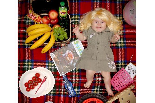 Aproveite dicas para fazer uma foto temática do bebê a cada mês e produzir um calendário com fotografias incríveis do pequeno