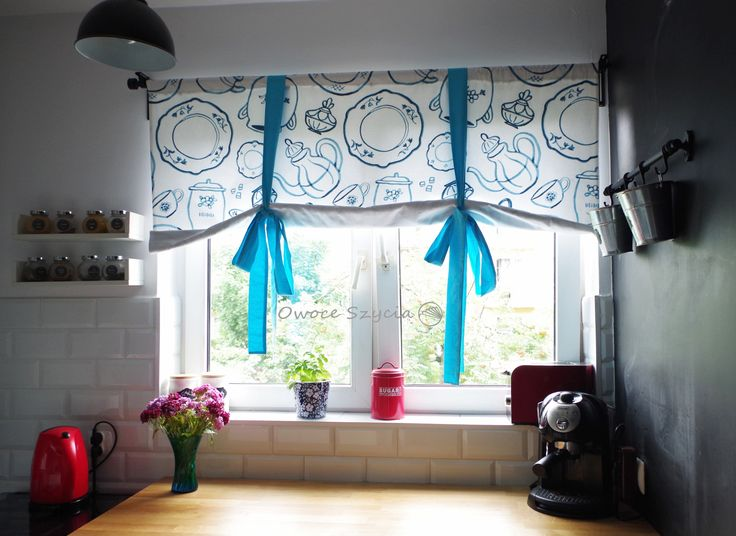 #owoceszycia Roleta handmade | Swedish blind handmade, Ikea fabric, homedecor