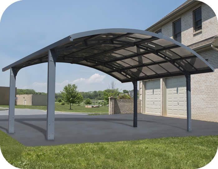 Palram Arizona Breeze Double Arch Style Carport Kit In 2020 Carport Outdoor Aluminum Carport