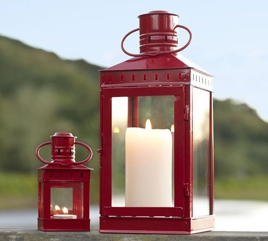 Add a Pop of Color With These Iron Lanterns