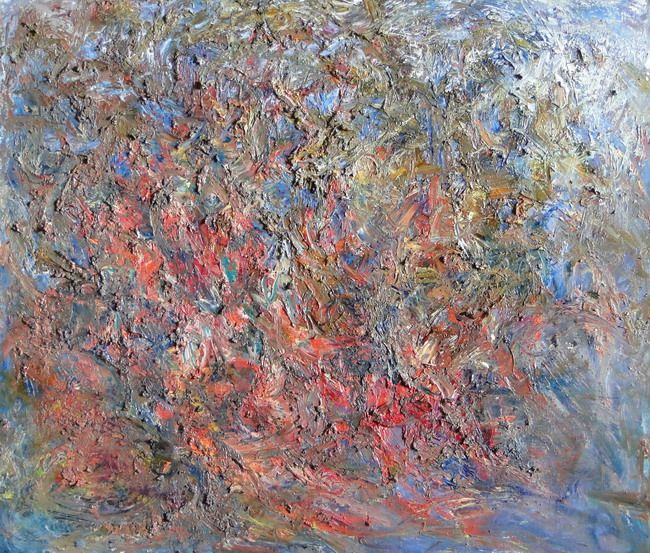 Sergey Fedotov:  Лес, 120х140, 2009 Fine Russian painter