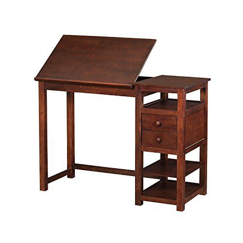 Let your creativity run wild with the versatile Dorel Living Drafting Counter Height Desk. Crafted with a sturdy wood construction and a mature espresso finish, this desk ensures sturdiness and years of reliable use. The table top can lie flat to accommodate working on a laptop or the top can be... more details available at https://furniture.bestselleroutlets.com/home-office-furniture/drafting-tables/product-review-for-dorel-living-drafting-and-craft-counter-height-desk-espre
