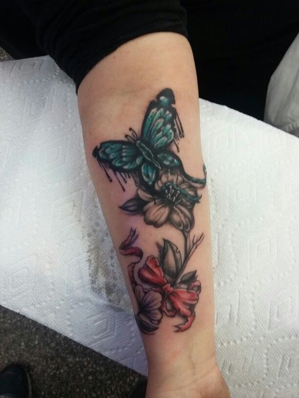 Butterfly Bowtie thingy tattoo