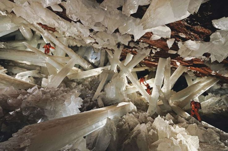 Cave of the Crystals - Chihuahua, Mexico - xinhua/Newscom/Xinhua News Agency