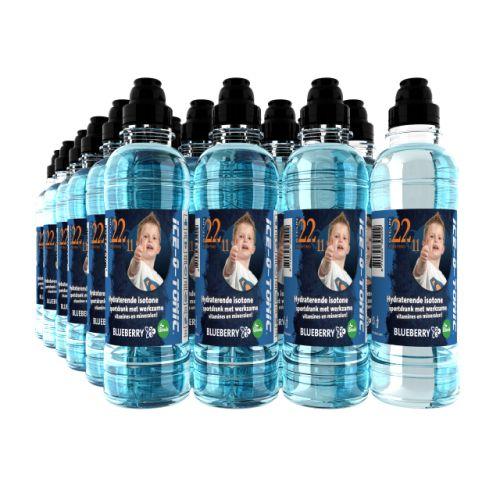 22Q11 Sportdrank Bosbessen - 24 stuks Partner Ice-O-Tonic doneert aan ieder verkocht 22q11 product aan Stichting Steun 22Q11. De isotone sportdrank van Ice-O-Tonic is een 100% natuurlijk product met stevia. Uiteraard drinkt het nog lekkerder met onze knappe Tim en Anna Olivia op de fles en een donatie voor 22Q11.  http://iceot.eu/22Q11-Sportdrank-Bosbessen#.WDdefrWuF54.google_plusone_share
