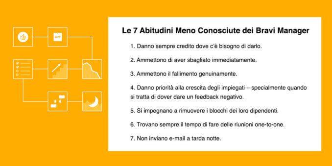 7 Abitudini Meno Conosciute dei Bravi Manager - Todoist Blog (Italiano)