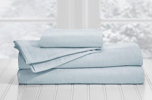 Jusqu'à 65% de rabais sur un ensemble de draps en flanelle 4 morceaux 100% coton signé Martex! Seulement sur tuango.ca