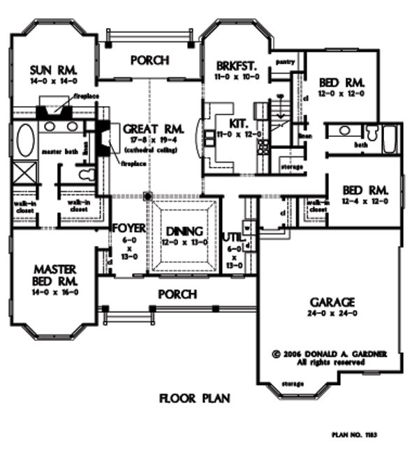 1000 Images About House Plans On Pinterest 3 Car Garage
