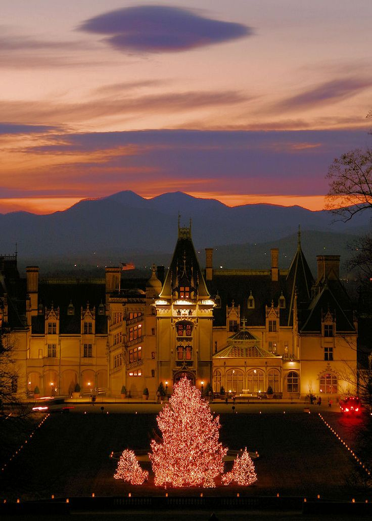 1000 images about christmas holidays in asheville on for Biltmore cabins asheville nc