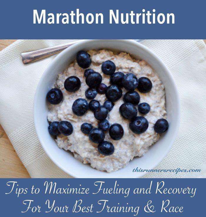 Marathon Nutrition {Marathon Monday} + Portland Marathon Training Week 16