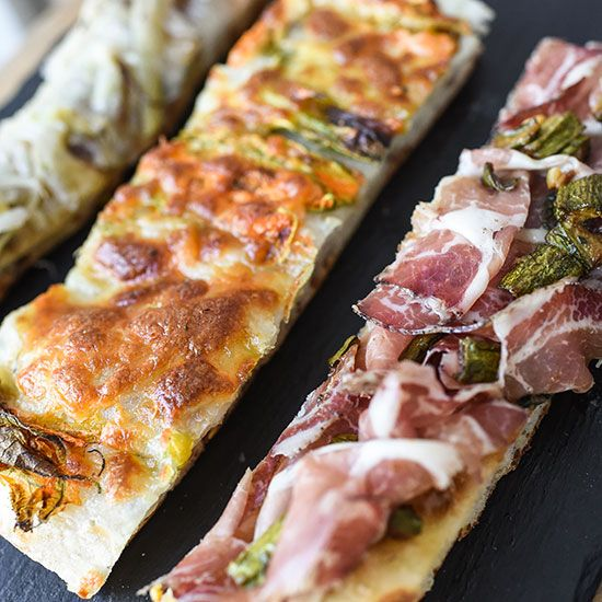 Pizzarium | At his landmark pizza-by-the-slice joint, Pizzarium, Gabriele Bonci and his team have elevated the ubiquitous street food to an art form.