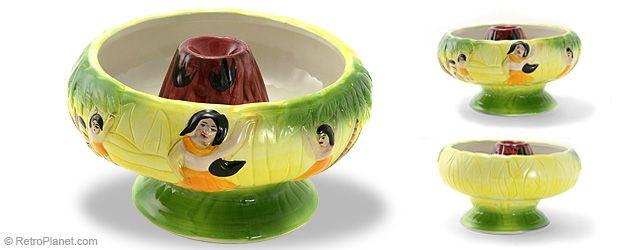 Volcano Center Drink Bowl