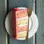 Strawberry Funfetti Cake Recipe