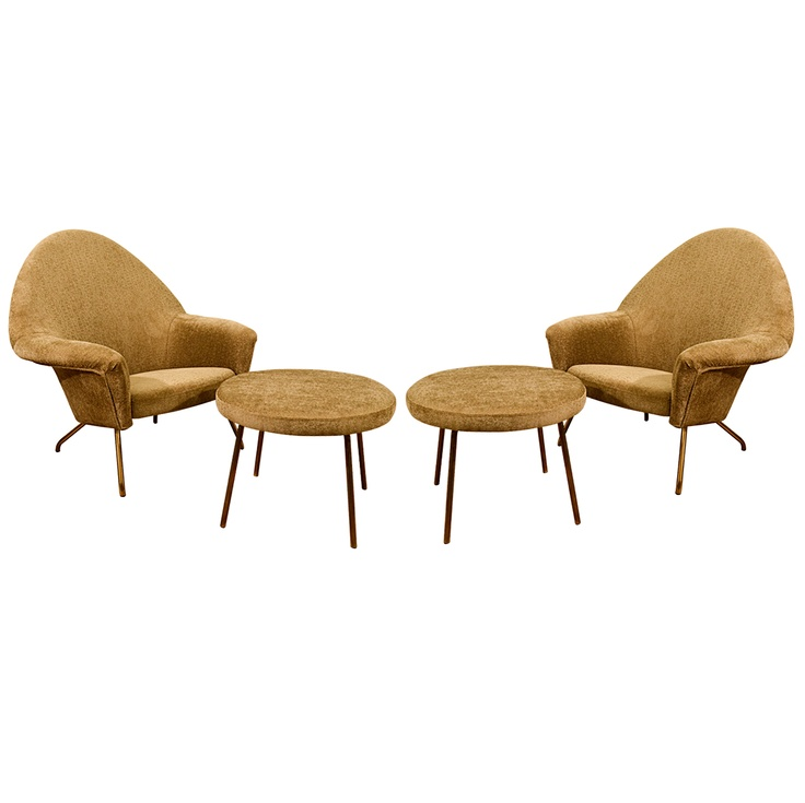 """770"" Chairs by J.A Motte for Steiner c1950's"
