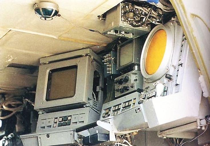 Russian Pantsir operator station