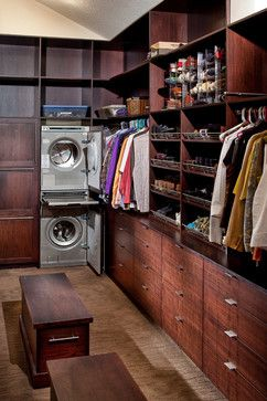 Spirit Lake - contemporary - closet - kansas city - Wende Woodworking LLC