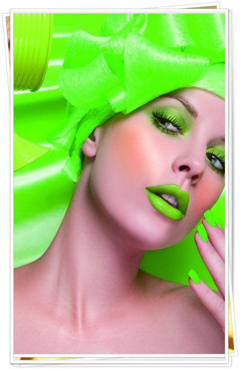 neon/lime green