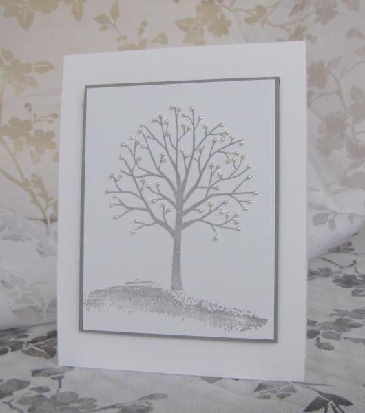 Splitcoaststampers FOOGallery - The Snow Tree