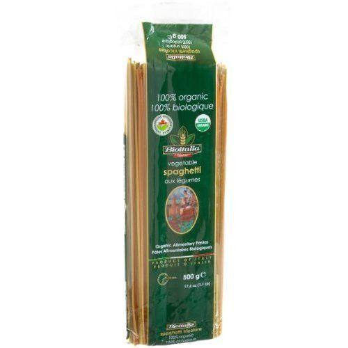 Bioitalia Spag Veg Pasta (20x17.6OZ )