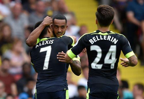 Alexis Sanchez, Theo Walcott, & Hector Bellerin - Arsenal FC
