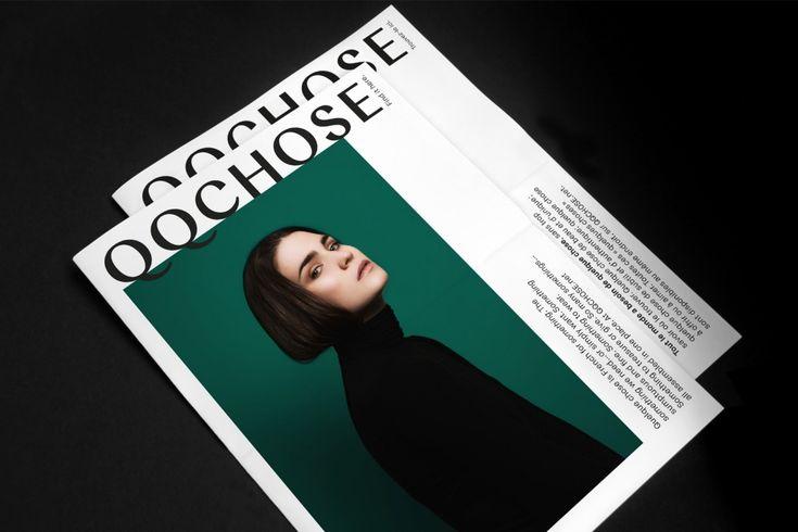 QQCHOSE by Paprika, Canada. #branding #print