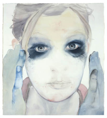 'Panda eyes' Fiona McMonagle