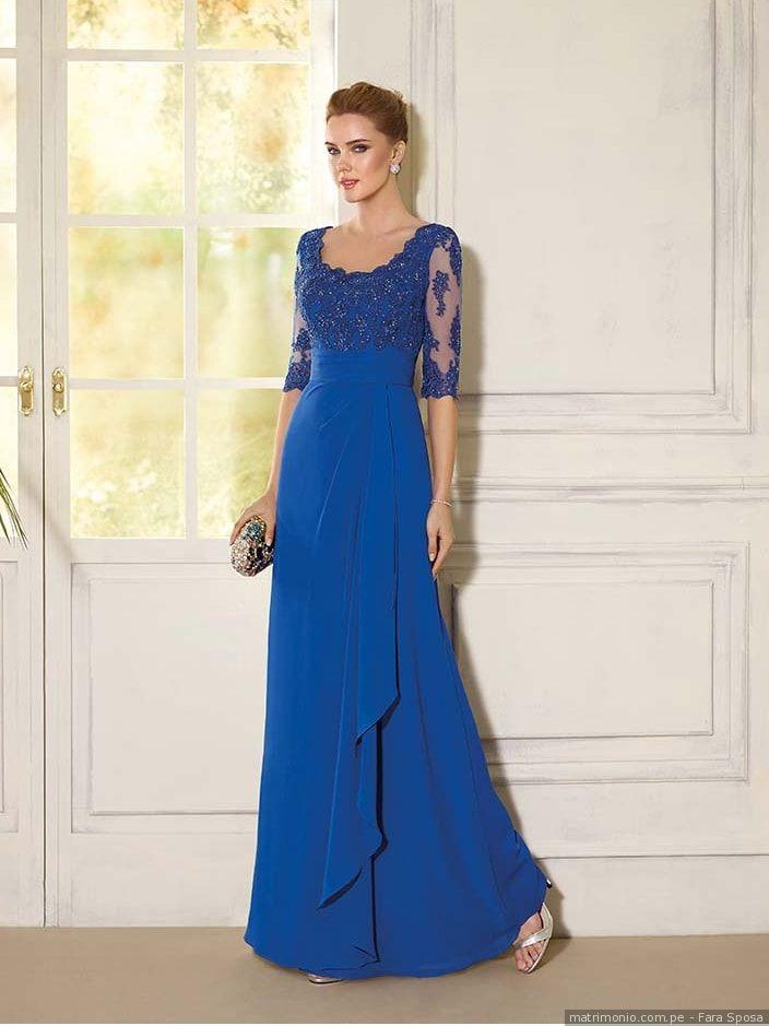 3cc92b27e9 65 vestidos de fiesta azul  el outfit perfecto para la invitada 2019 ...