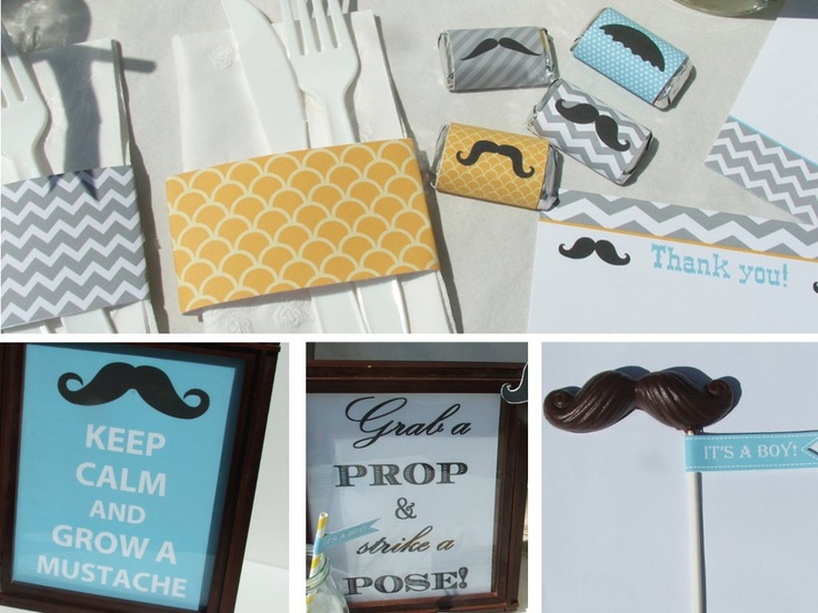 Clinton S Baby Shower Decorations ~ Best mustache baby shower images boy shower