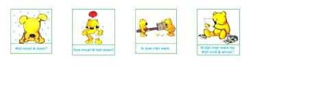 Variatie op de Beertjes van Meichenbaum zie ook: http://leermiddel.digischool.nl/po/leermiddel/e44f22999f36e463146c4762d602bfcb?s=2.5