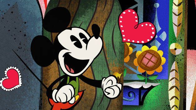 Yodelberg - Mickey Mouse and Friends. This is awesome! This page is full of classic Disney shorts, and a bunch of new Mickey shorts that are like nothing Disney I've ever seen before