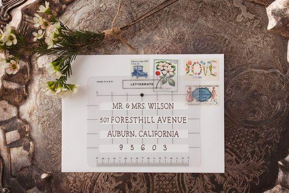 Le Lettermate - un guide d'adressage enveloppe pour ceux d
