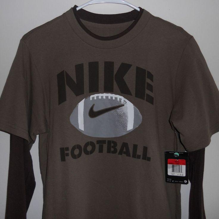 NWT Nike Football Long Sleeve T-Shirt Youth Large Boys 14-16 #Nike #Football