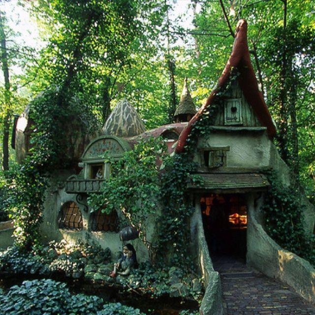 Enchanting cottage.