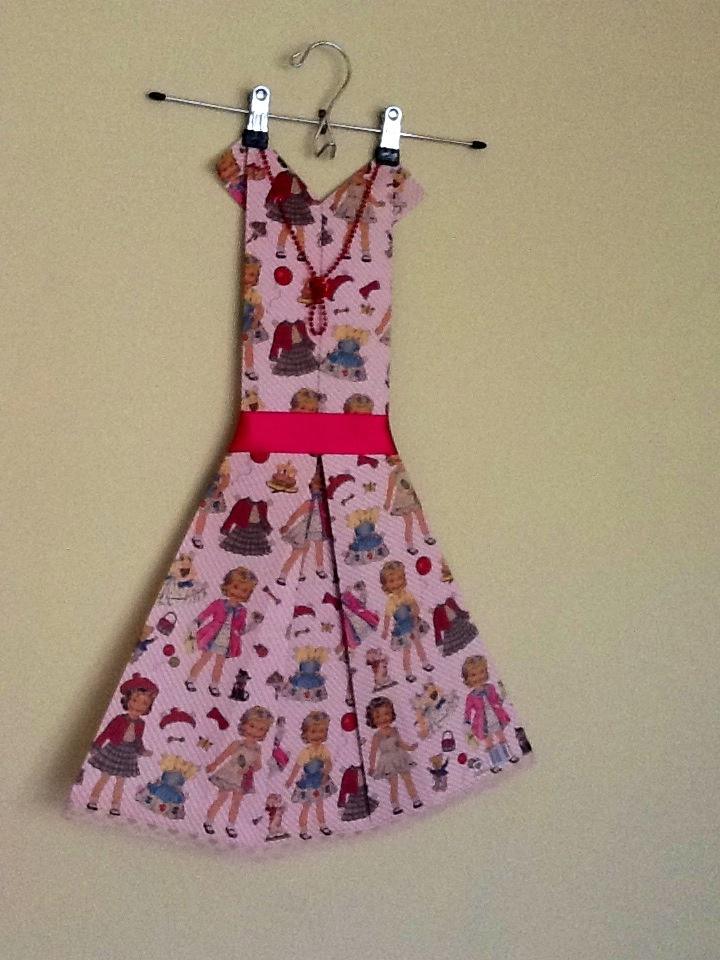 Foldulicious Frock - Paper Doll Created by Fold-u-lic-ious Frocks n Fings