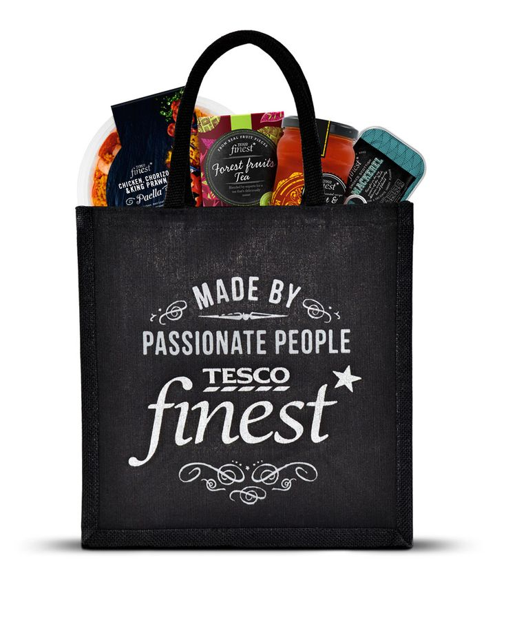 Tesco Finest* Bag | By P&W Design Consultants