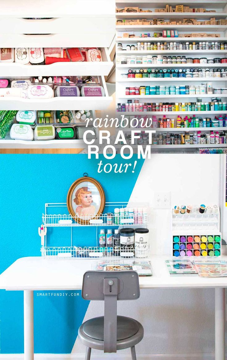 258 best Craft Room Ideas . Scrabook Room . Craft Studio images on ...
