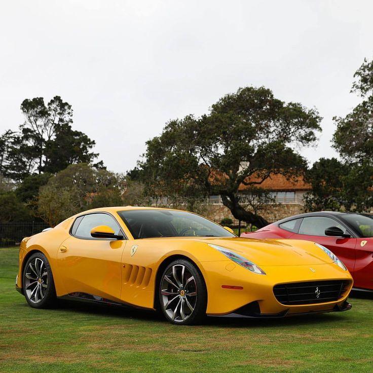 Ferrari SP 275 RW Competizione during the Ferrari 70th anniversary celebration in pebble beach #Carweek #Carweek2017 #MontereyCarweek #Carmel #Carmelbythesea #Monterey #TheQuail #PebbleBeach #OceanAve...