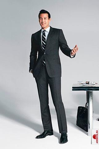 Показы мужских деловых костюмов фото