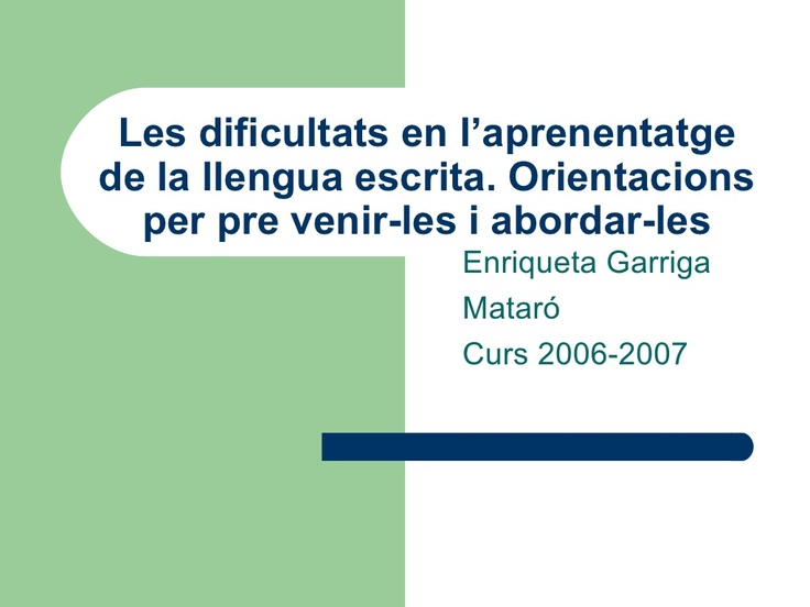 llegir by equipsuport via Slideshare