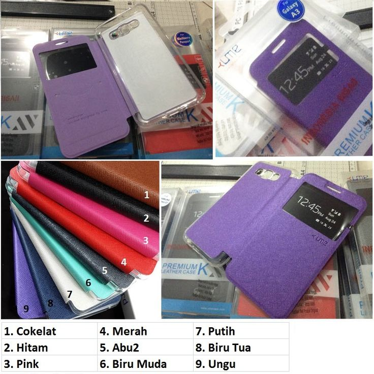 Ume Enigma View Case Samsung Galaxy A3 - Rp 135.000