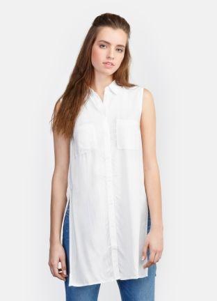 Удлиненная рубашка за 1199р.- от OSTIN
