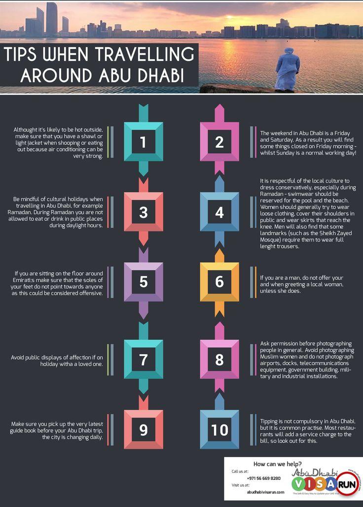 Tips When Travelling Around Abu Dhabi