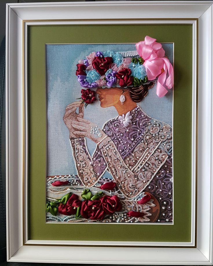 Silk Ribbon Embroidery 500 Euro