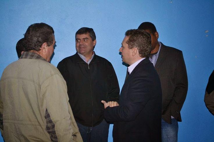 Encontro com o amigo e correligionário Jorge Chiden em Viamão