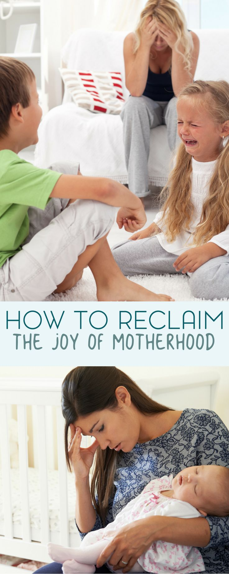 When motherhood is stressful, it may be difficult to find the positives. Here's how to reclaim the joy of being a mom.