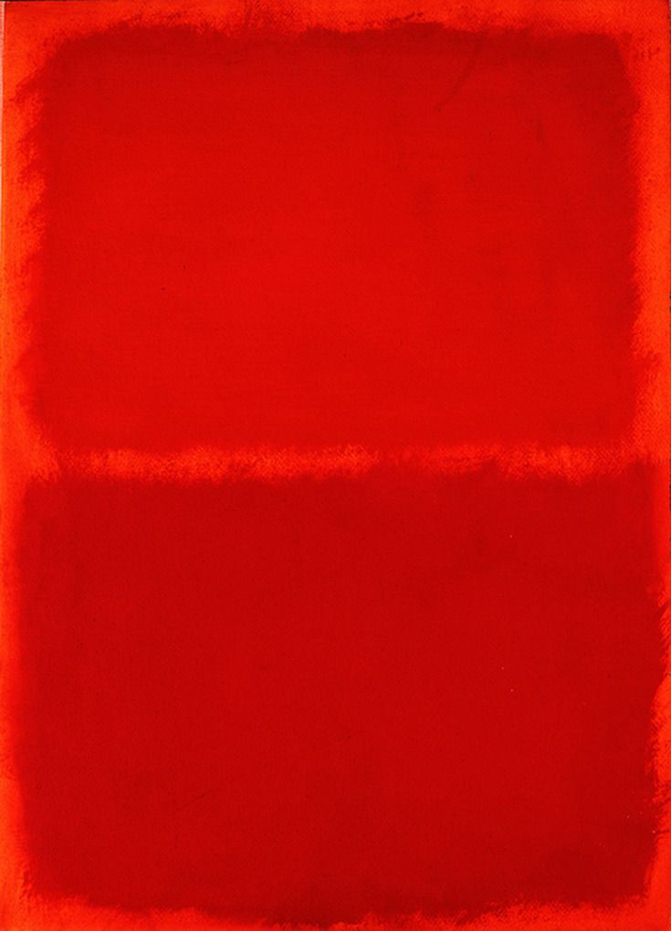 "lonequixote: ""   Mark Rothko Orange, Red, Orange """