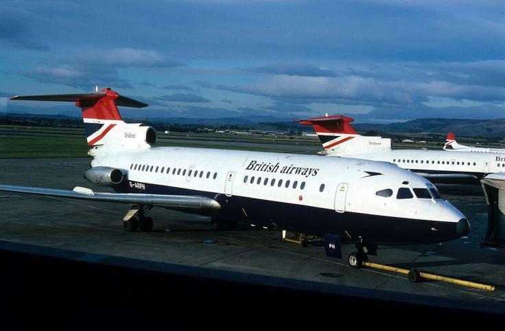 2108  DH.121 Trident 1C  G-ARPH British Airways Glasgow Airport