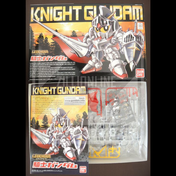 [MODEL-KIT] SD LEGEND BB KNIGHT GUNDAM. Item Size/Weight : 31 x 20.1 x 5.8 cm / 250g. (*ITEM SIZE & WEIGHT BEFORE PACKAGED). Condition: MINT / NEW & SEALED RUNNER. Made by BANDAI.