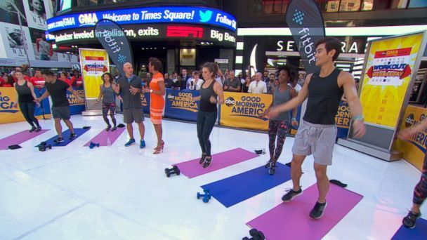 Workout Wednesday: Harley Pasternak Leads Live-Stream Workout on 'GMA' Video - ABC News