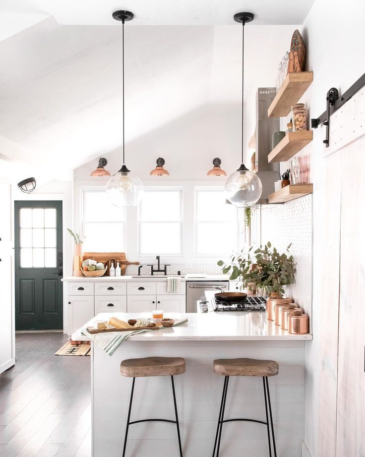 Rose Gold Cookie Jars And Lights Interior Design Kitchen